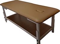 Массажный стол с отверстием для лица PR_008 Карамельный