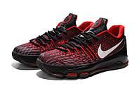 Мужские баскетбольные кроссовки Nike KD 8 (Black/Red), фото 1