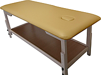 Массажный стол с отверстием для лица PR_008 Желтый