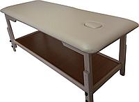 Массажный стол с отверстием для лица PR_008 Серый