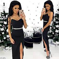 Красивое платье черное ,нарядное платье, фото 1