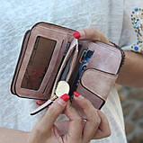 Женский кошелек, клатч Baellerry Forever Mini, балери. Пудровый. Замша PU, фото 6
