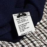 Хайповая мужская шапка Palace синяя Турция Палас Молодежная Новинка 2020 года Модная зима VIP реплика, фото 3