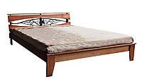 Кровать Скарлетт орех светлый  (Domini TM)