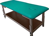 Массажный стол с отверстием для лица PR_008 Бирюзовый