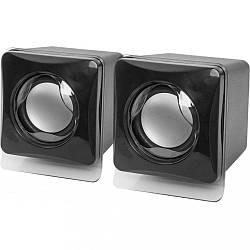 Мультимедийная акустика колонки Defender 5W USB  SPK-35 Black (65635)