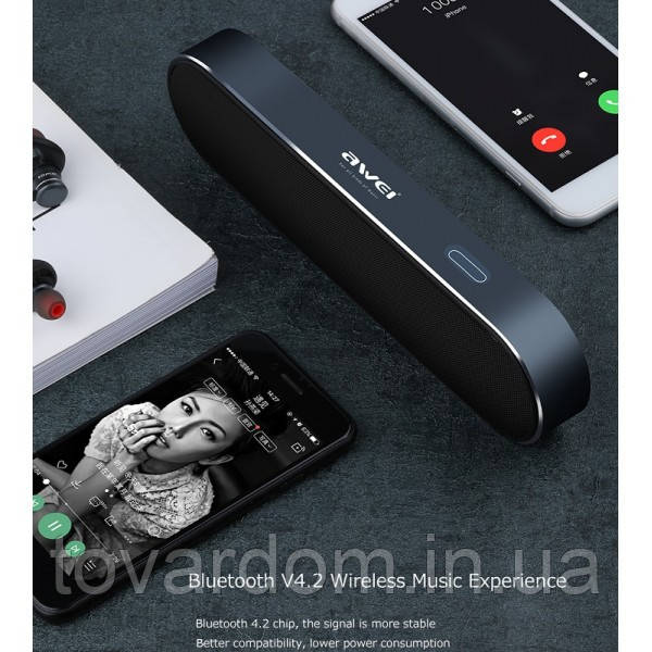 Блютуз колонка / Bluetooth Speaker AWEI (OR) Y220