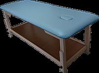 Массажный стол с отверстием для лица PR_008 Голубой