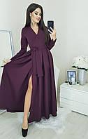 Платье в пол / креп костюмный / Украина 45-5115, фото 1