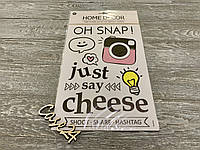 Набор декоративных наклеек Just Say Cheese
