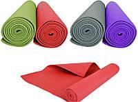 Коврик для фитнеса, йоги, пилатеса/гимнастический коврик 170х60х0,4 см