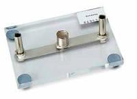 Патрон для лампочки E10 на акриловом основании