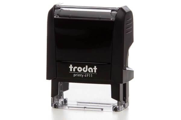 Штамп самонаборный Trodat Printy 4911 38x14 мм 3 строки б/у