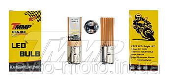 Лампа фары  LED BA 200  (DC 10-35V, 720/1200 lm, 6/12W)   TMMP