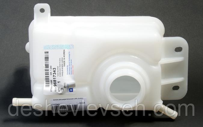 Бачок расширительный AVEO T200, Vida GM, 96817343 (Корея)