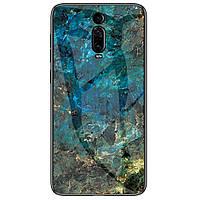 Чехол  Luxury Marble Glass для Xiaomi Mi 9T Pro