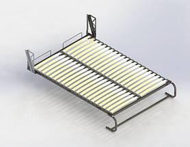 Вертикальная шкаф-кровать 1600*2000 мм. Комплектация согласно договору от 23.10.2019 и утвержденным эскизам., фото 3