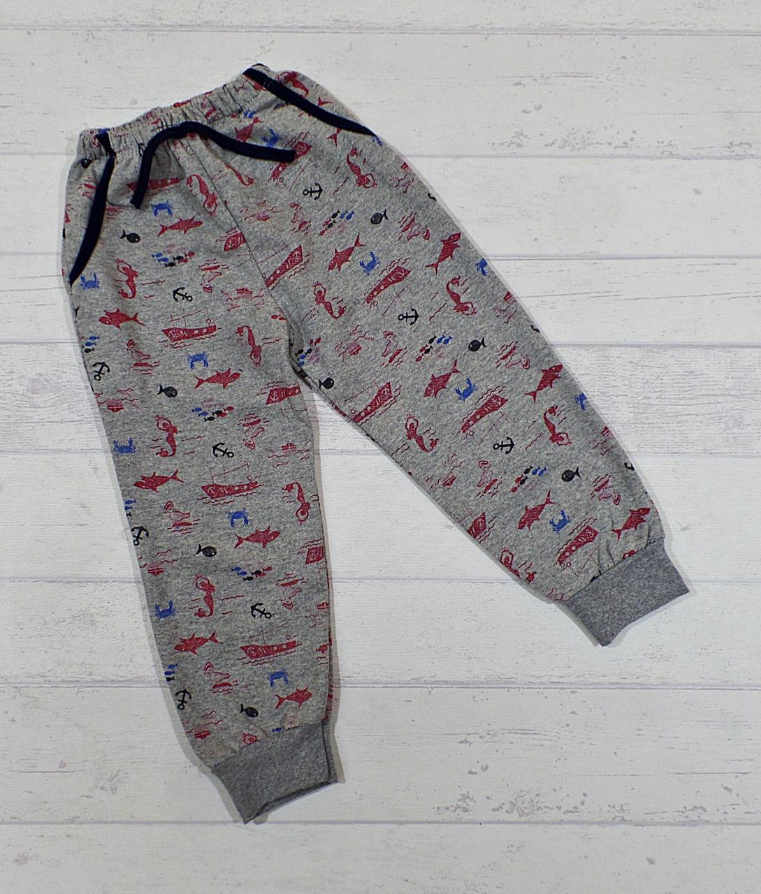 Штаны с начесом для мальчиков 5,6,7,8 лет 54896127444 ...