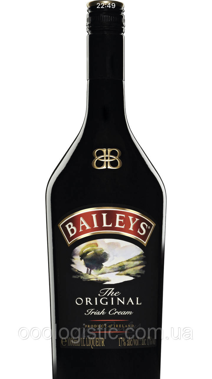 Ликёр Bailleys Original 1л. 17% duty free