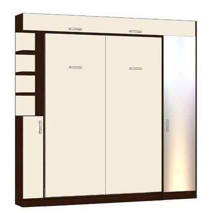 Вертикальная шкаф-кровать 1600*2000 мм. Комплектация согласно договору от 23.10.2019 и утвержденным эскизам., фото 2