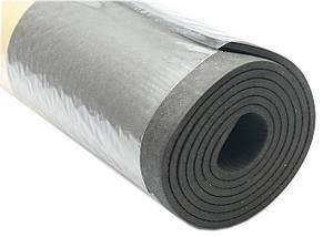 Коврик для фитнеса, йогамат (MS 2682) TPE 183-61 см. Черный 6 мм., фото 2