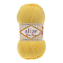 Пряжа Беби Бест Ализе Alize цвет 113 желтый