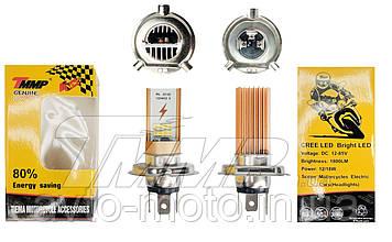 Лампа фары  LED H4 (DC 12-85V, 1800 lm, 12/18W)