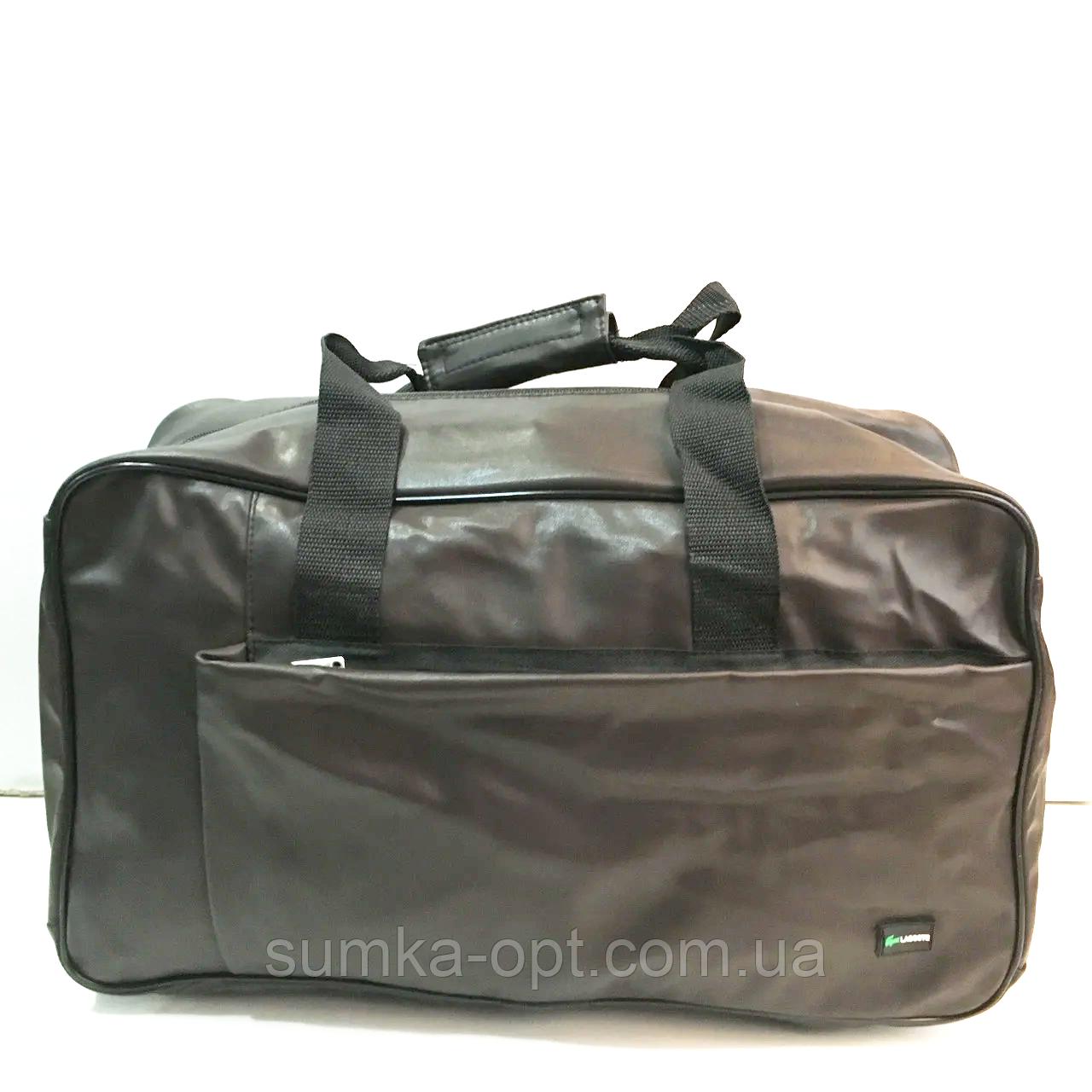 Спортивные сумки из искусственной кожи (КАШТАН НАКАТКИ) 20*28*46см