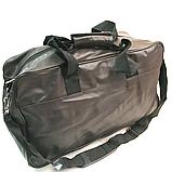 Спортивные сумки из искусственной кожи (КАШТАН НАКАТКИ) 20*28*46см, фото 2