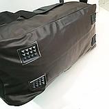Спортивные сумки из искусственной кожи (КАШТАН НАКАТКИ) 20*28*46см, фото 4