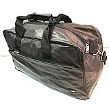 Спортивные сумки из искусственной кожи (КАШТАН НАКАТКИ) 20*28*46см, фото 3