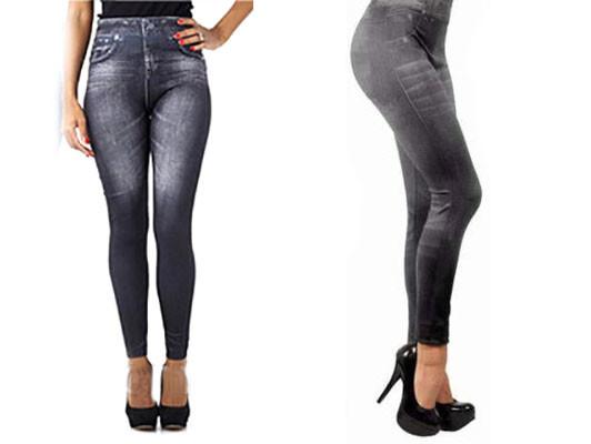 Лосины корректирующие Slimn Lift Caresse Jeans размер S/M