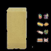 "41 Уголок из крафт бумаги""Хот Дог класический"" без рисунка 200х85мм (ВхШ) 40г/м² (1уп/500шт)"