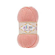 Пряжа Беби Бест Ализе Alize цвет 145 персик