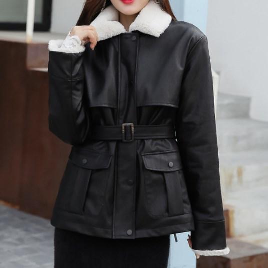 Жіноча зимова куртка-дублянка. Модель 8306