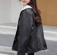 Жіноча зимова куртка-дублянка. Модель 8306, фото 2