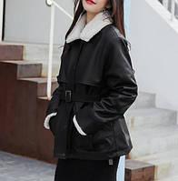 Жіноча зимова куртка-дублянка. Модель 8306, фото 3