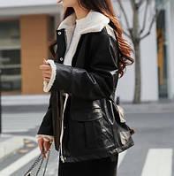 Жіноча зимова куртка-дублянка. Модель 8306, фото 4