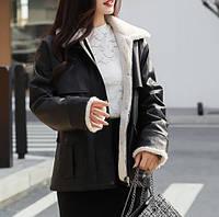 Жіноча зимова куртка-дублянка. Модель 8306, фото 7