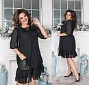 Женское  нарядное платье размер 48-62  Мажорка 816, фото 3
