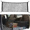 Универсальная СЕТКА / КАРМАН в багажник автомобиля с крючками ( 90 х 40 см ), фото 3