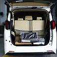Универсальная СЕТКА / КАРМАН в багажник автомобиля с крючками ( 90 х 40 см ), фото 5