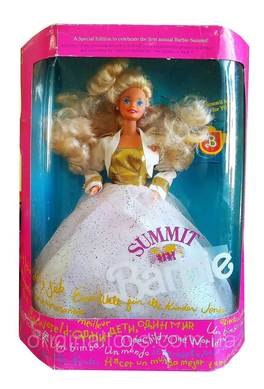 Коллекционная кукла Барби Саммит Barbie Summit 1990 Mattel 7027