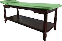 Массажный стол для салона красоты PR_010 Зеленый