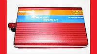 Инвертор преобразователь напряжения Powerone 2000W 12V-220V с функцией плавного пуска Red (4_00037)