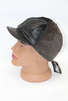 Зимняя тёплая мужская кепка, фото 1