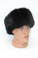 Мужская ондатровая шапка ушанка, фото 1