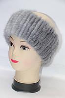 Женская модная норковая повязка на голову