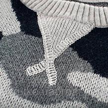 Свитер для мальчика Серый камуфляж 27 KIDS, фото 2