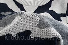 Свитер для мальчика Серый камуфляж 27 KIDS, фото 3